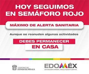 Semáforo Rojo Edomex